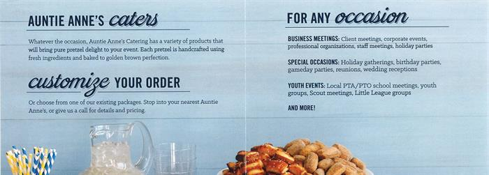 Auntie Anne Catering 2
